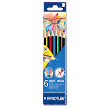 Staedtler Noris Colouring Pencil Set of 6