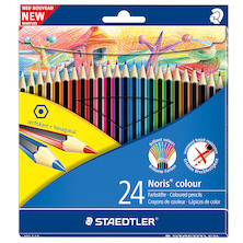 Staedtler Noris Colouring Pencil Set of 24