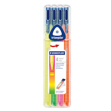 Staedtler Triplus Colour Pen Neon Set of 4