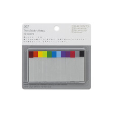 Stalogy Sticky Tabs Thin 12 Colours
