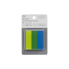 Stalogy Sticky Tabs Lime, Green & Blue