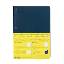 Stalogy 365Days Notebook A5 Navy