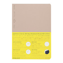 Stalogy 365Days Notebook A5 Beige