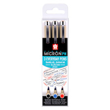 Sakura Pigma Micron PN Drawing Pen Office Set