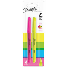 Sharpie Pocket Highlighter Assorted Set of 2