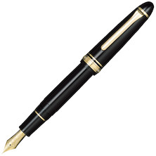 Sailor 1911 Large Fountain Pen Black with Gold Trim