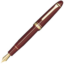 Sailor 1911 Large Fountain Pen Maroon with Gold Trim