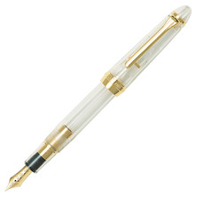 Sailor 1911 Standard Fountain Pen Demonstrator with Gold Trim