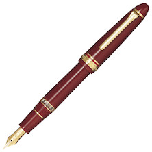 Sailor 1911 Realo Fountain Pen Maroon with Gold Trim
