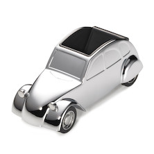 Troika Ente 2CV Car Magnetic Paperweight and Pen Holder