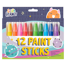 Docrafts Craft Planet Paint Sticks Bright Set of 12