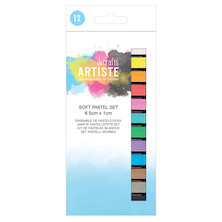 Docrafts Artiste Soft Pastel Set of 12