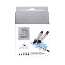 Winsor & Newton Water Colour Markers Set of 12