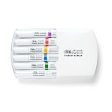 Winsor & Newton Pigment Markers Set of 6 Rich Tones