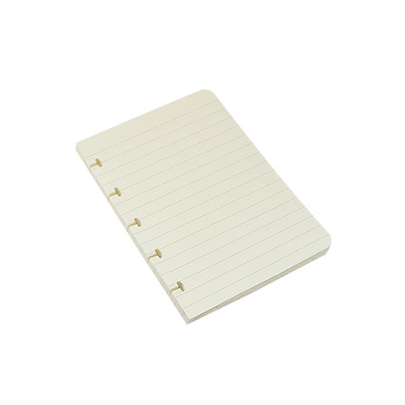 Atoma Notebook Refill Pad A6 Cream