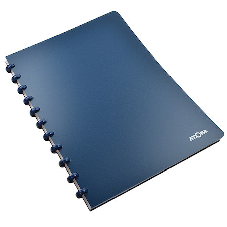 Atoma Classic Colours Polypropylene Cover Disc-Bound Refillable Notebook A4