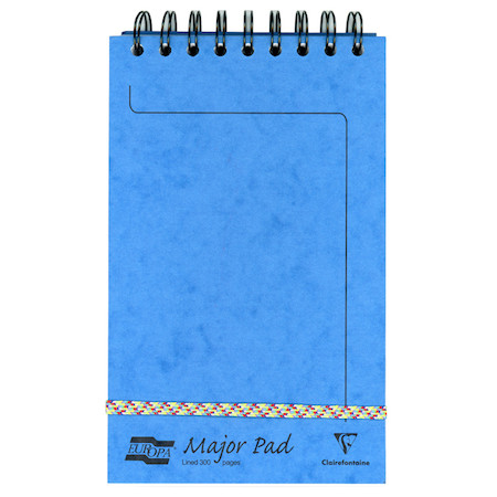 Clairefontaine Europa Major Pad Wirebound Notepad (202x127)