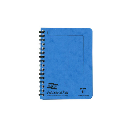 Clairefontaine Europa Notemaker Wirebound Notebook A6 (105x144)