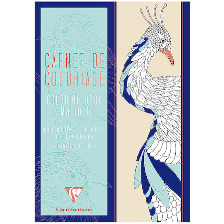Clairefontaine Advanced Colouring Book A4 Nature