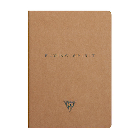 Clairefontaine Flying Spirit Notebook Kraft Cover A5