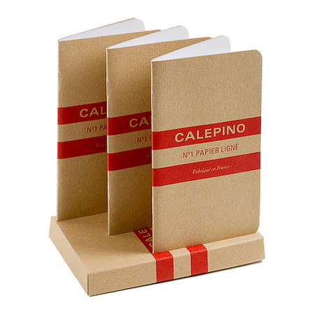 Calepino No.1 Notebook Ruled Set of 3