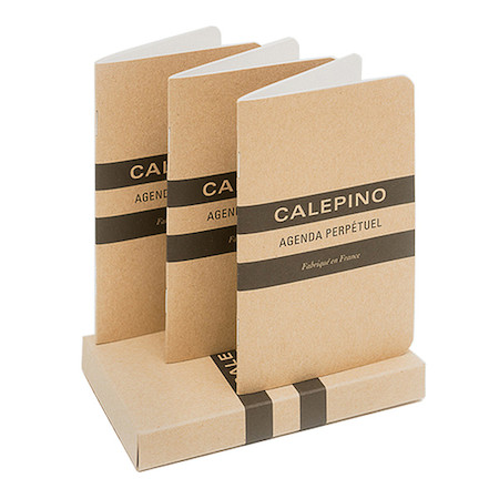Calepino Weekly Planner Notebook Set of 3