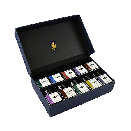 Diamine Music Collection Ink Bottle Set