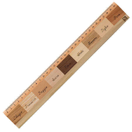 Fabriano Righello Mix Essenze 9 Wood Ruler