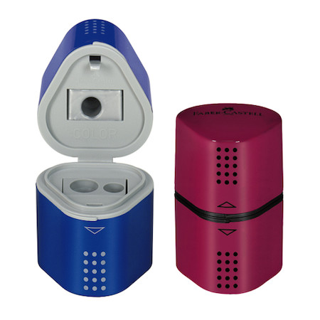 Faber-Castell Trio Pencil Sharpener Colours