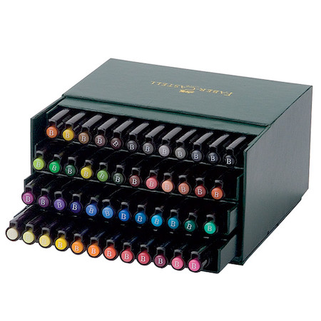 Faber-Castell Pitt Artist Brush Pen Set of 48