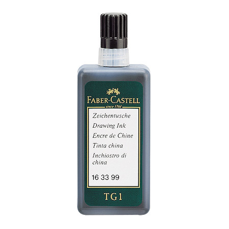 Faber-Castell TG1 Drawing Ink 23ml Bottle