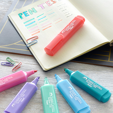 Faber-Castell Textliners 1546 Pastel Highlighter