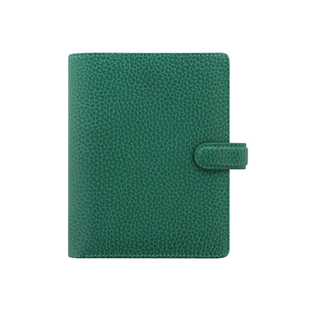 Filofax Finsbury Pocket Organiser Forest Green