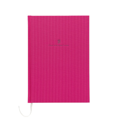 Graf von Faber-Castell Colours Linen Bound Notebook A5 Electric Pink