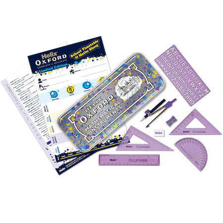 Helix Oxford Splash Maths Set Purple
