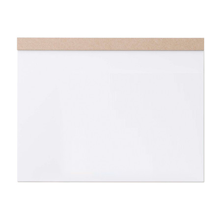 Ito Bindery Desk Drawing Pad White Paper Brown Mount