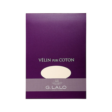 G Lalo Velin Pur Coton Writing Pad A5