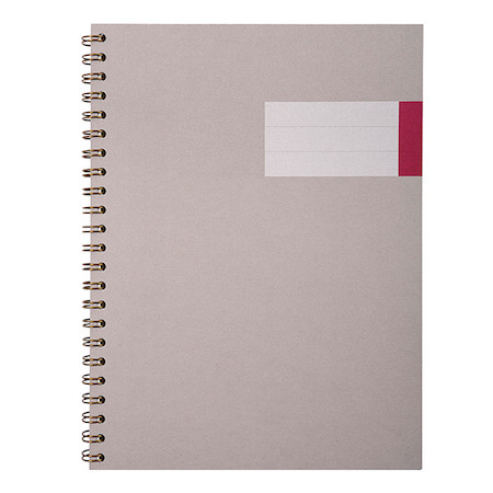 G Lalo Toile Imperiale Wirebound Notebook A4