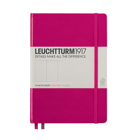 Leuchtturm1917 Hardcover Notebook Medium Berry