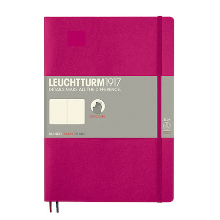Leuchtturm1917 Softcover Notebook B5 Berry