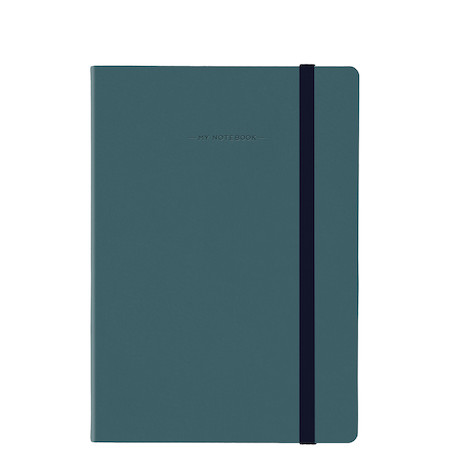 Legami My Notebook Dotted Petrol Blue