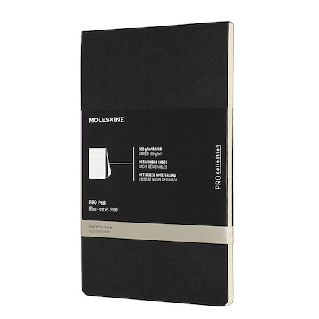 Moleskine Pro Pad Large 135x210mm Black