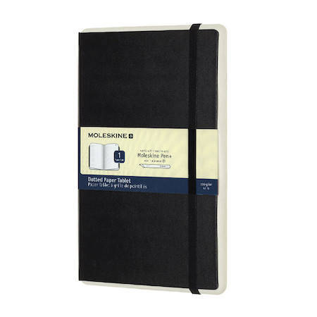 Moleskine Smart Writing Paper Tablet Black Dotgrid