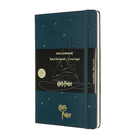 Moleskine Harry Potter Large Notebook Limited Edition Sorting Hat