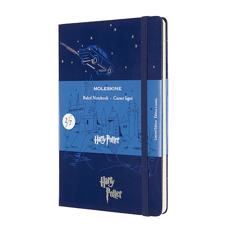 Moleskine Harry Potter Large Notebook Limited Edition Flying Car