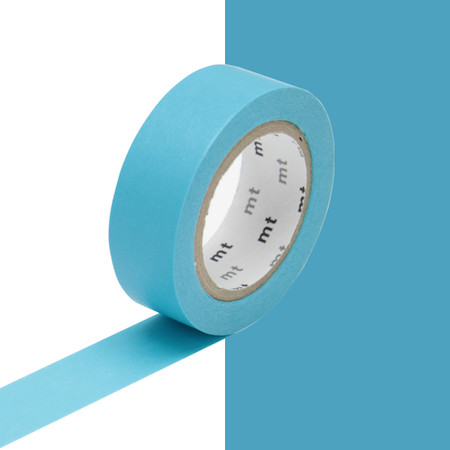 mt Washi Masking Tape - 15mm x 10m - Mizu