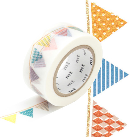 mt Washi Masking Tape EX - 20mm x 10m - Flag