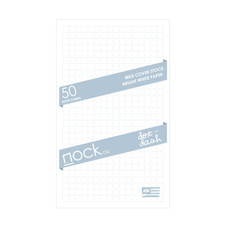Nock DotDash Notecards Pack 50
