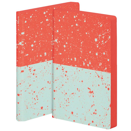 Nuuna Colour Clash L Light Smooth Bonded Leather Cover Notebook Sakura
