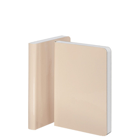 Nuuna Candy S High Gloss Cover Notebook Nude